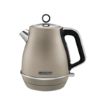 Morphy richards Kettle  104403 Standard, Stainless  steel, Platinum, 2200 W, 360° rotational base, 1.5 L