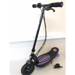 SALE OUT. Razor E100 Electric Scooter - Purple REFURBISHED; USED; SCRATCHED; WITHOUT ORIGINAL PACKAGING Razor 3 month(s),