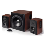 Edifier S350DB Speaker type 2.1, 3.5mm/Bluetooth/Optical/Coaxial, Bluetooth version 4.0, Brown, 150 W