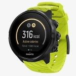 Suunto 9 G1 Lime - Durable, streamlined multisport GPS watch with a long battery life