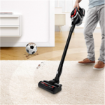 Bosch Vacuum cleaner Serie 8 Unlimited ProPower BSS81POW Cordless operating, Handstick and Handheld, 18 V, Operating time (max) 35 min, Black, Warranty 24 month(s), Battery warranty 24 month(s)