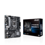 ASUS PRIME B560M-K (LGA 1200) mATX motherboard with PCIe® 4.0, two M.2 slots, 8 power stages, Intel® 1 Gb Ethernet, HDMI, D-Sub, rear USB 3.2 Gen 1, TPM header,RGB header