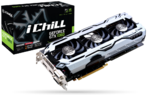 Inno3D iChill GeForce GTX 1060 6GB X3 V2, DVI-D, HDMI, DP