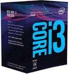 Intel Core i3-8100, Quad Core, 3.60GHz, 6MB, LGA1151, 14nm, BOX (su aušintuvu)