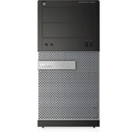 Dell Optiplex 3020 Desktop, MT, Intel Core i3, i3-4150, Internal memory 4 GB, DDR3, HDD 500 GB, Intel HD, 16X Half Height DVD+/-RW Drive, Linux, Warranty 36 month(s)