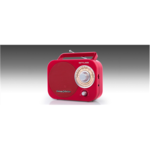 Muse Portable Radio M-055RD Red, AUX in