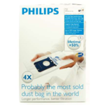 Philips disposable dust bag FC8021/03 Dust Bag 4pcs, • AirStar: FC8220 - FC8229• City-Line: FC8400 - FC8439, HR8368 - HR8378• EasyLife: FC8130 - FC8139• Expression: FC8600 - FC8629, HR8300 - HR8349• HomeHero: FC8910 - FC8919• Impact: FC8350 - FC8399, HR8350 - HR8367• Jewel: FC9050 - FC9079• Mobilo: FC8500 - FC8579• Performer: FC9150 - FC9179• PerformerPro: FC9180 - FC9199• PowerLife: FC8320 - FC8329, FC8440 - FC8459• SilentStar: FC9300 - FC9319• SmallStar: FC8230 - FC8260• Specialist: FC9100 - FC9139• Studio(Power): FC9080 - FC9089• Universe: FC9000 - FC9029• ...: FC8200 - FC8219• Electrolux Group: Electrolux bag vacuum cleaners, Tornado bag vacuum cleaners, Zanussi bag vacuum cleaners• PerformerActive: FC8520 - FC8529, FC8650 - FC8660• Performer Expert: FC8720…FC8729