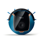 Philips SmartPro Active Vacuum cleaner robot FC8812/01 Robot, Black/ blue, 0.4 L, 58 dB, Cordless, 14.8 V, 90 min