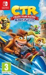 Crash Team Racing Nitro-Fueled žaidimas, skirtas Nintendo Switch konsolei