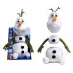 JUSPL Disney Olaf Pull Apart Plush, Suitable for children aged 3 and above, AA, 2 AA batteries