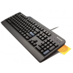 Lenovo USB Smartcard Keyboard - U.S. English with Euro symbol
