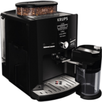 Krups Coffee maker EA82F8 Pump pressure 15 bar, Built-in milk frother, Fully automatic, 1450 W, Black