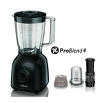 Philips Daily Collection Blender HR2104/90 400 W 1.5 L with mill, filter, chopper with 400 W motor and ProBlend 4