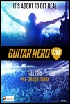 Guitar Hero Live žaidimas, skirtas Playstation 4 konsolei