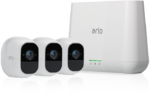 ARLO PRO 2 FHD (1080p) 3 x Camera Smart Security System Wire Free (VMS4330P)