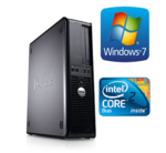 DELL 780 | Intel E6400 2.13GHz/4MB | RAM 2GB | HDD 160GB |  Video Intel Integrated | DVD | Win 7 Home Premium (RENEW)