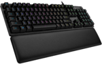 LOGITECH G513 Silver RGB Mechanical Gaming Keyboard - CARBON - USB - G513 LINEAR SWITCH (US) INTNL