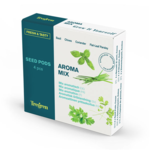 Tregren  Fresh&Tasty Aroma Mix, 4 seed pods: basil, chives, coriander, leaf pepper, SEEDPOD87