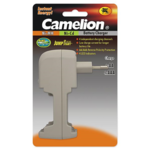 Camelion Overnight Charger BC-0908 (without batteries), Plug-In Charger for 1-4 Ni-MH/Ni-Cd AA/AAA/ 4 Independing charging channels, (OUTPUT: 4x 140mA for AA / 4x70mAH for AAA / INPUT: 230V),  2 x LED Indicators, Reverse Polarity Protection, Low charge current for longer battery life, 0 Voltage Jump Start