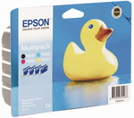 Rinkinys Epson T0556 CMYK MultiPack | Stylus Photo R240/245,RX420/425/520
