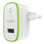 BELKIN Single Mini Ac Chrgr 5V 12W 2.4A White