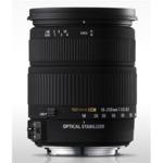 Sigma 18-200mm F3,5-6,3 II DC OS HSM for Nikon, 18 Elements in 13 Groups, Angle of View: 76.5-8.1 degrees, 7 Blades, Filter size: 72mm, Minimum Focusing Distance  45cm.