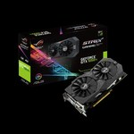 ASUS GeForce® GTX 1050 Ti STRIX OC GAMING, 4GB GDDR5 (128 Bit), HDMI, 2xDVI, DP