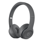 Beats Solo3 Wireless Asphalt Grey On-Ear Headphones | Up to 40 hours of battery Life | Apple W1 Technology | Award-Winning Sound | 5 minute charge = 3 hours of playback