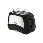 TEFAL Toaster TT131D16 Black/Stainless steel, 870 W, Number of slots 2, Number of power levels 7, Bun warmer included