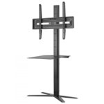 "ONE For ALL Solid TV Stand WM4672 32-70 "", Maximum weight (capacity) 25 kg, Black"