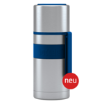 Boddels HEET Vacuum flask with cup Night blue, Capacity 0.35 L, Diameter 7.2 cm, Bisphenol A (BPA) free