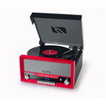 Muse Turntable micro system MT-110 RD USB port, 3 speeds