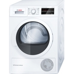 Bosch Dryer WTW854I7SN  Condensed, Condensation, 7 kg, Energy efficiency class A++, Self-cleaning, White