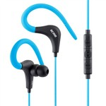 Acme HE17B Sport earphones with Built-in microphone - Blue/Black | 3.5 mm
