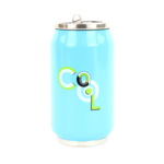 Yoko Design Isotherm tin can 1636 Light blue, Capacity 0.28 L, Diameter 6.9 cm, Yes