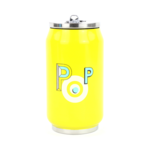 Yoko Design Isotherm tin can 1637 Yellow, Capacity 0.28 L, Diameter 6.9 cm, Yes