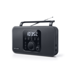 Muse Radio M-091R Black, AUX in, Alarm function