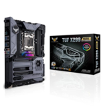 Asus TUF X299 MARK 1 Processor family Intel, Processor socket LGA2066, DDR4, Memory slots 8, Supported hard disk drive interfaces M.2, Number of SATA connectors 8, Chipset Intel X, ATX