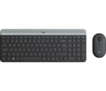 LOGITECH Slim Wireless Keyboard and Mouse Combo MK470 GRAPHITE INT