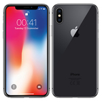 | Atnaujintas*, A grade | iPhone X 64GB Space Gray MQAX2 with usb cable & EU adapter, no headset