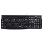 Logitech K120 Corded Keyboard black USB (OEM)