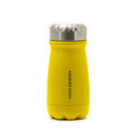 Yoko Design Travel Bottle Isothermal, Yellow, Capacity 0.35 L, Diameter 7.5 cm, Yes