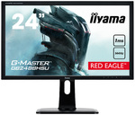 IIYAMA G-Master GB2488HSU monitorius (be pakuotės) Red Eagle 24