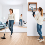 Bosch Vacuum cleaner Unlimited BBS611PCK Cordless operating, Handstick and Handheld, 18 V, Operating time (max) 30 min, Blue, Warranty 24 month(s), Battery warranty 24 month(s)