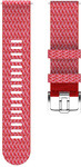 Polar watch strap 22mm S/M PET, red