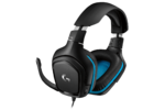 Logitech G432 7.1 Surround Sound Wired Gaming Headset, USB, Leatherette