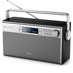 Philips Portable Radio AE5220B with DAB+ and FM digital tuner, Battery/AC powered, DAB and FM