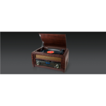 Muse DAB/DAB+ Turntable Micro System MT-115 DAB 3 speeds, USB port, AUX in