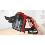 Bosch Vacuum cleaner Unlimited ProAnimal BBS61PET2 Cordless operating, Handstick and Handheld, 18 V, Operating time (max) 30 min, Red/Black, Warranty 24 month(s), Battery warranty 24 month(s)