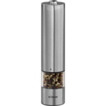 Bomann PSM 437 N CB Electric Pepper/Salt Mill, Battery operation 4 x 1,5 V AA Mignon/LR/AM3 (not supplied)  W, AA Mignon/LR/AM3, Stainless steel